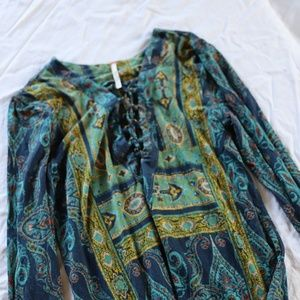 Free people small long sleeve top